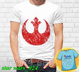 """Футболка с принтом """"Star wars \ Звездные войны"""" - 24"""