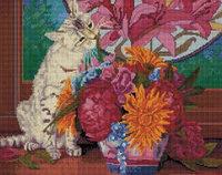 Алмазная мозаика на подрамнике «Весенний букет», 40х50 см, УА399