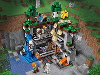 LEGO Minecraft 21169 Первое приключение, конструктор ЛЕГО