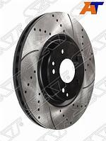 Комплект перфорированных дисков перед MERCEDES C180 W203/C209 00-06
