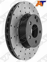 Комплект дисков тормозных передний перфорированные MERCEDES C204/W204/S204