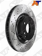 Комплект дисков тормозных передний перфорированные MERCEDES E200 W211 02-09
