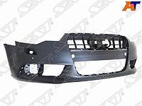 Бампер передний AUDI A6 11-14 под омыватели/сонары