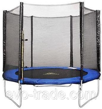 Батут Get Jump TRAMPOLINE FITNESS 427 см с сеткой