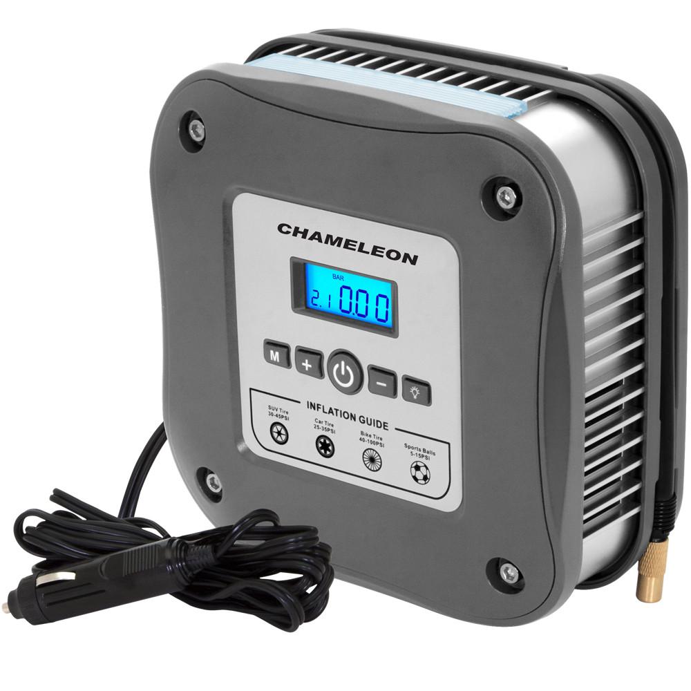 Автомобильный компрессор (насос)   Chameleon AC-220