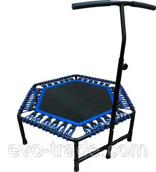 Батут для джампинга Get Jump Blue с нагрузкой до 120 кг