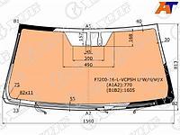 Стекло лобовое с полным обогревом+ дд TOYOTA LAND CRUISER 200/LEXUS LX570 16-