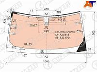 Стекло лобовое с полным обогревом + дд LAND ROVER DISCOVERY III 5D SUV 04-09