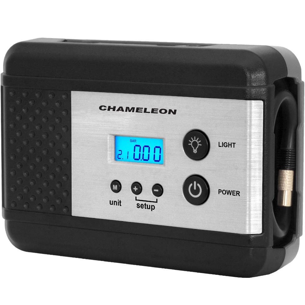 Автомобильный компрессор (насос)   Chameleon AC-210