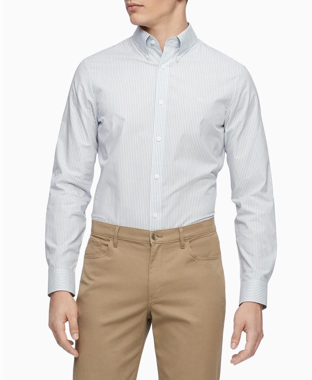 Calvin Klein Мужская рубашка-Т1