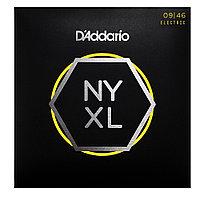Струны для электрогитары D'addario Nickel Wound Carbon Core Super Light 9-46