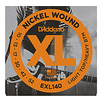 Струны для электрогитары D'Addario Nickel Wound EXL14 Light Top/Heavy Bottom