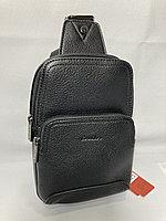 """Мужская сумка-кобура""""Cantlor"""" через плечо. Высота 23 см, ширина 15 см, глубина 5 см., фото 1"""