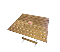 Складной стол HOLZ (70х80х70см)(4,7кГ)(до 20кГ) дерев.