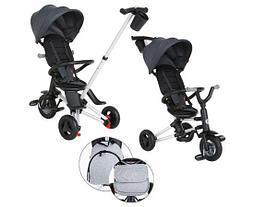 Детский велосипед трехколесный складной, велоколяска  Qplay Nova Plus