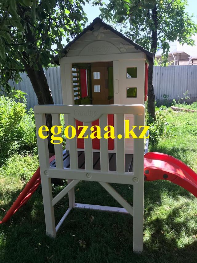 Детский домик на сваях с горкой Smoby 810800