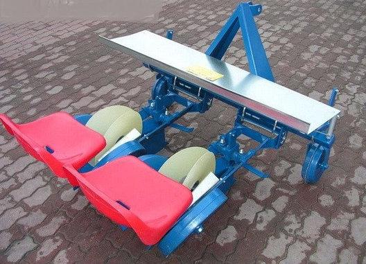 Рассадопосадочная машина  навесная, 2х рядная (Польша), фото 2