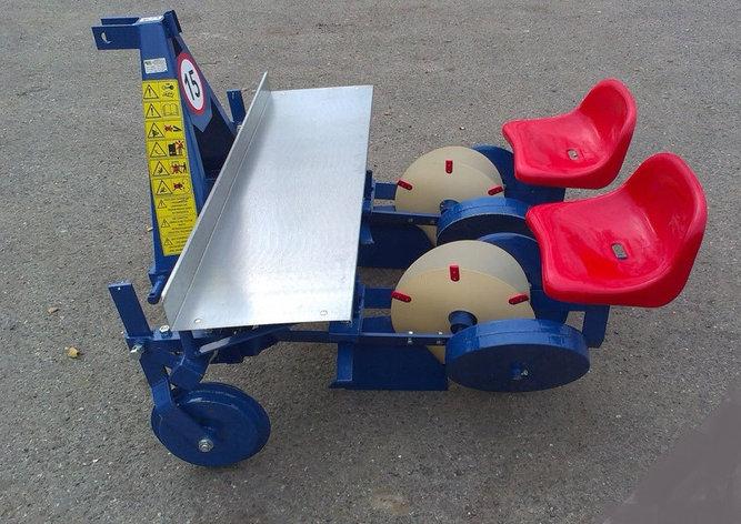 Рассадопоcадочная машина навесная серии S237 2х рядная, фото 2