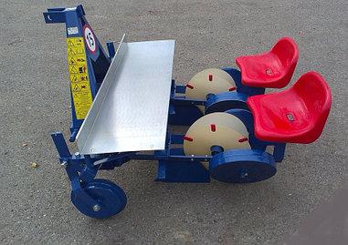 Рассадопоcадочная машина навесная серии S237 2х рядная