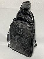 Мужская нагрудная сумка-кобура. Высота 24 см, ширина 14 см, глубина 5 см., фото 1