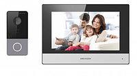 Домофон Hikvision DS-KIS605-P (серебристый)