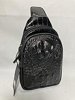 Мужская нагрудная сумка-кобура. Высота 25 см, ширина 15 см, глубина 6 см., фото 1