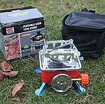 Портативная газовая плита туристическая, фото 2