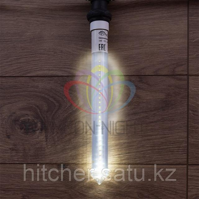 """Светодиодная LED """"Тающая сосулька"""" - 30 см, белый свет, динамический режим свечения (эффект стекающей капли)"""