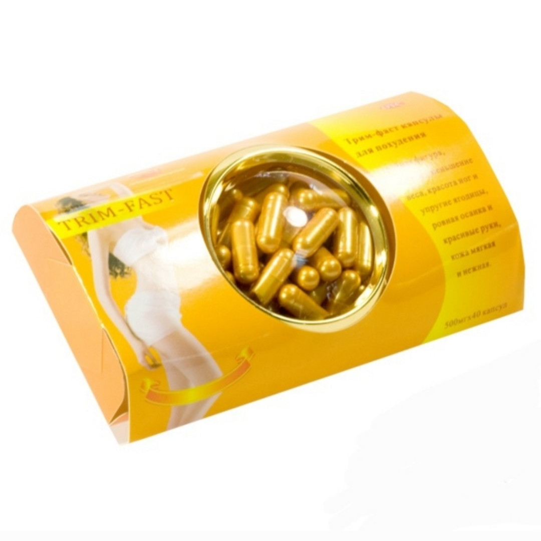 TRIM - FAST Трим Фаст капсулы для похудения 40 капсул