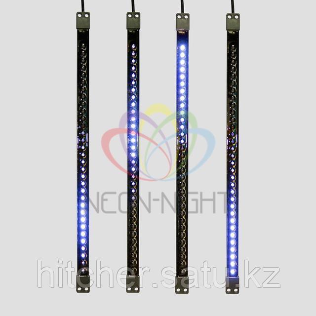 """""""Светодиодная сосулька"""" - 50 см, синий свет, динамический режим свечения (эффект стекающей капли)"""
