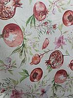 Итальянская Скатерть с тефлоновым покрытием, Италия, гранаты и бабочки
