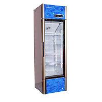 Вертикальный холодильник 350 Холодильник для выставки напитков, молочных изделий и прочего.