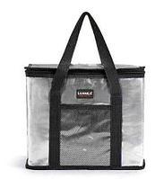 Сумка-термос на молнии с наружным карманом SANNE 8635 [26 литров] (Черный)
