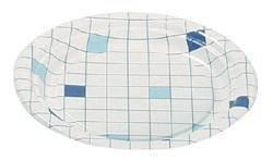 "Тарелка d 180мм, ""Клетка"", картон, 1000 шт"