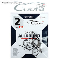 Крючки Cobra ALLROUND CA126-2, 10 шт.