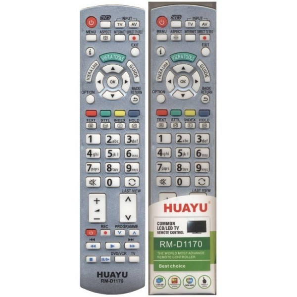 Универсальный пульт Huayu для Panasonic RM-D1170