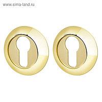 Накладка Armadillo CYLINDER ET-1GP/SG-5, цвет золото/матовое золото, 2 шт.