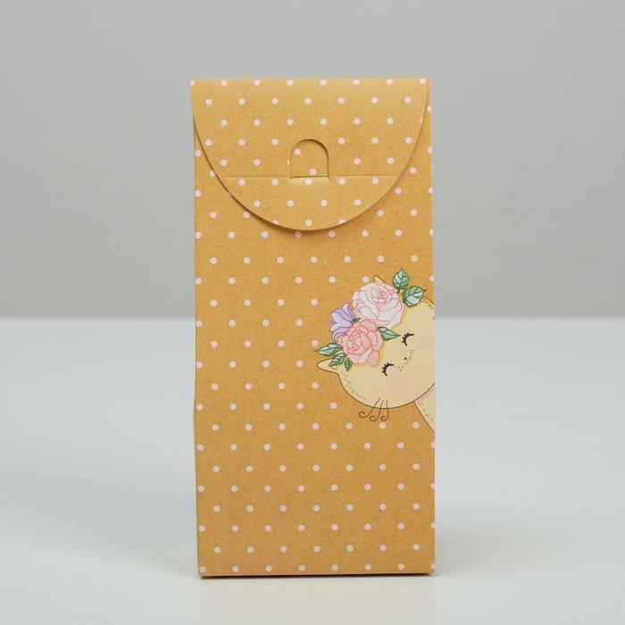 Коробка складная «Только для тебя», 9 × 19 × 6 см - фото 3