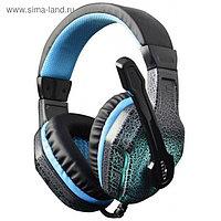 Наушники с микрофоном Oklick HS-L400G ZEUS 1.8м мониторы оголовье (NO-3000 LED) черный