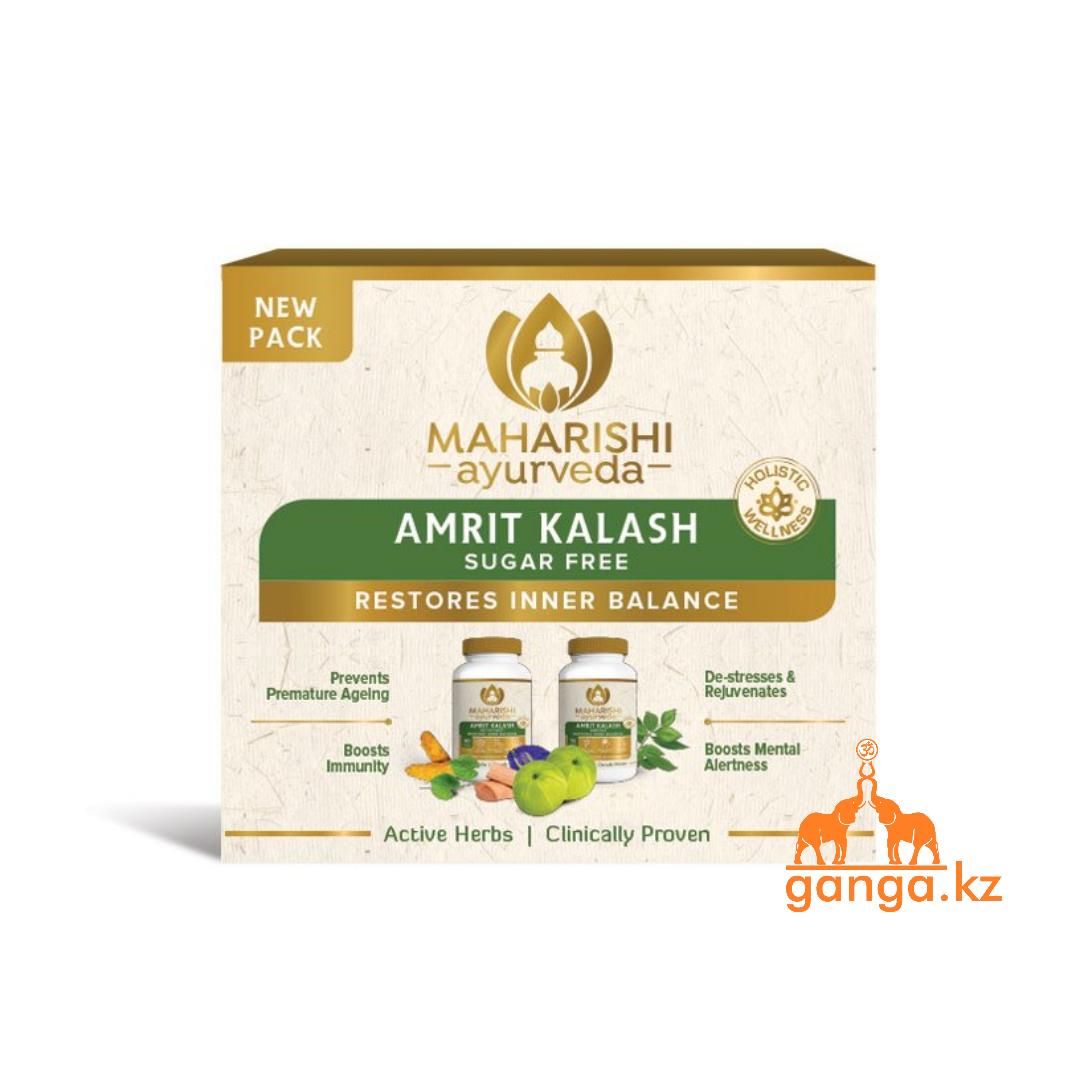 Махариши Амрит Калаш Без Сахара (Maharishi Amrit Kalash Sugafree MAHARISHI AYURVEDA), 60 таб.+60 таб.
