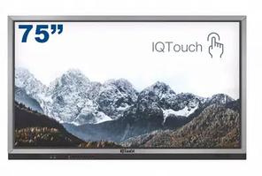 """Интерактивная LED панель 75"""" IQBoard J-серия +ПК <10 касаний, 3840*2160, UHD, i3+4G+1TB, 1-LE075MD"""