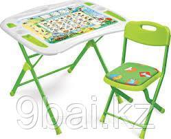 НИКА Набор мебели Веселая Азбука стол+стул от 3 до 7 лет