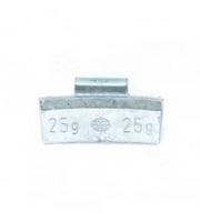 Грузики набивные ALU для легкосплавных (литых) дисков 25 гр.