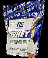 WHEY - Протеиновый порошок со вкусом ванильного мороженного 2.27г