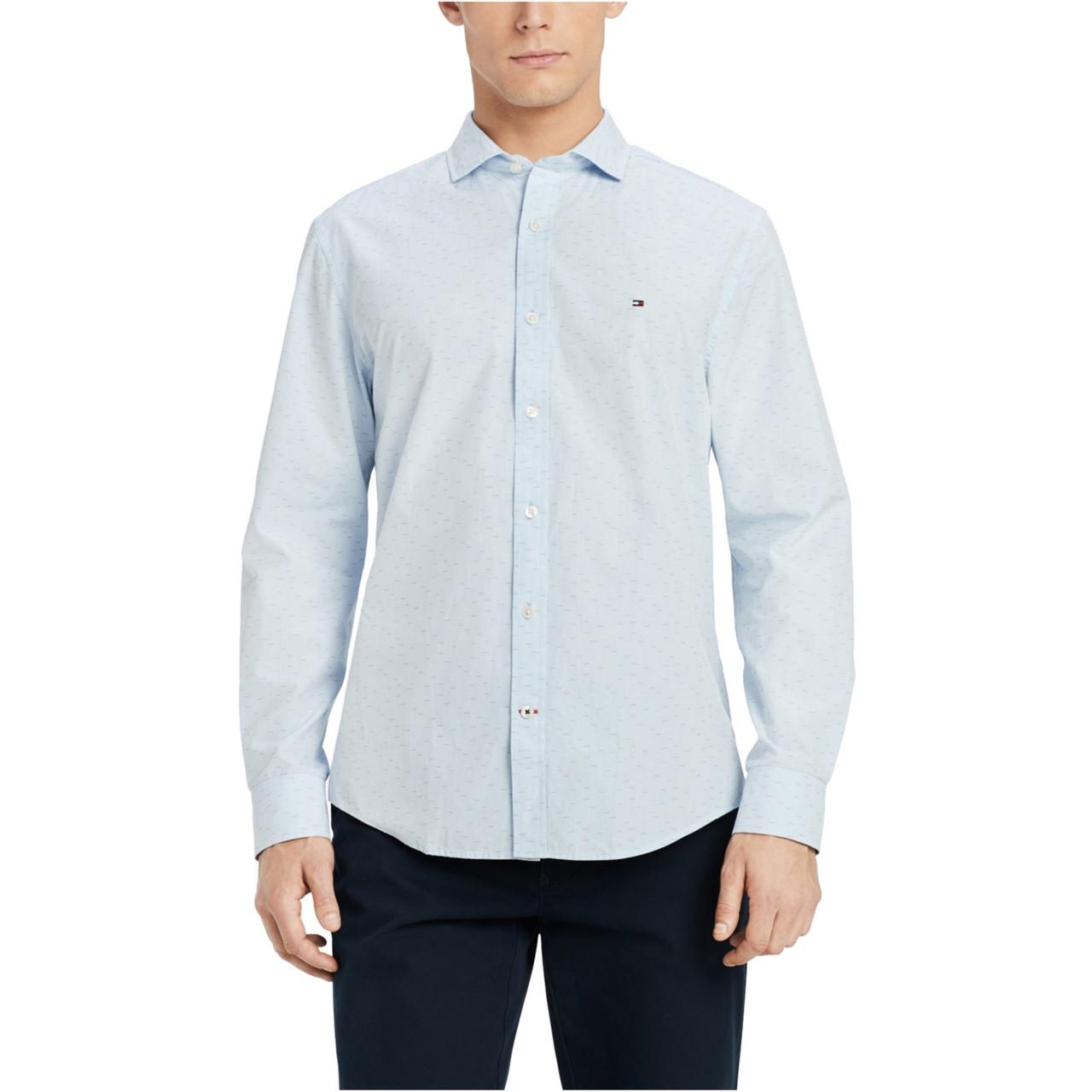 Tommy Hilfiger Мужская рубашка-Т1
