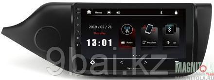 "ШГУ KIA Ceed 12-18 (Nakamichi NTA-1806) 4x50Вт, USB, BT, 2,5D экран, MirrorLink, 9"""