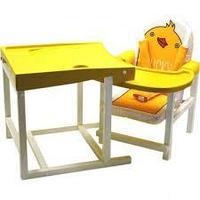 BABYS Стул-стол для кормления DUCKY Желтый