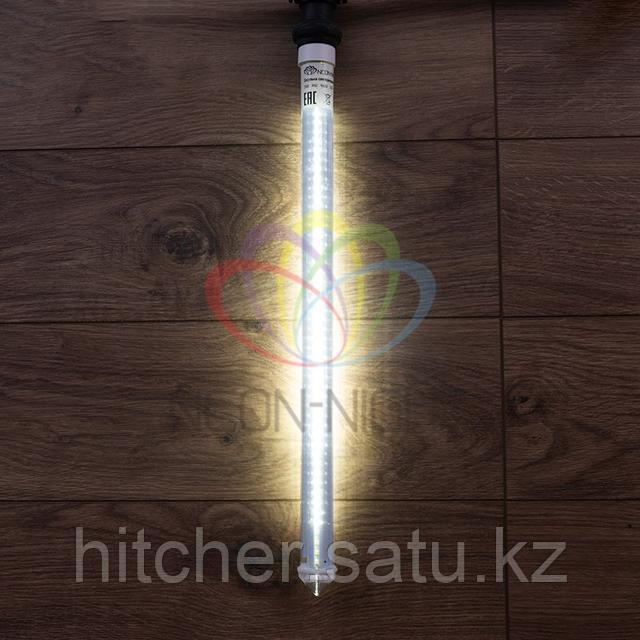 """Светодиодная LED """"Тающая сосулька"""" - 50 см, белый свет, динамический режим свечения (эффект стекающей капли)"""