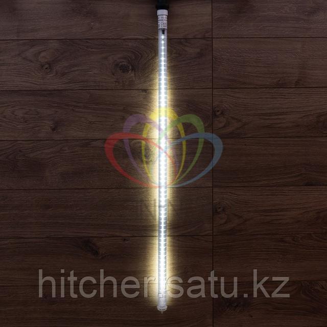 """Светодиодная LED """"Тающая сосулька"""" - 100 см, белый свет, динамический режим свечения (эффект стекающей капли)"""