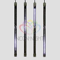 Светодиодная сосулька - 50 см, белый свет, эффект стекающей капли
